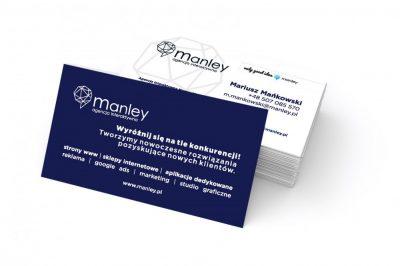 Wizytówka Manley