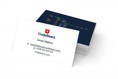 Wizytówki CodeBearz