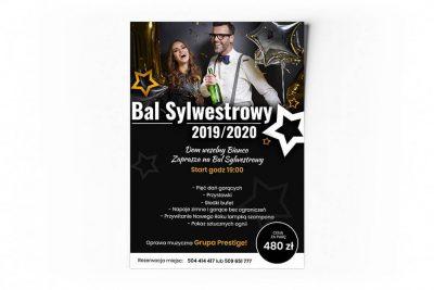 Plakat Bal Sylwestrowy