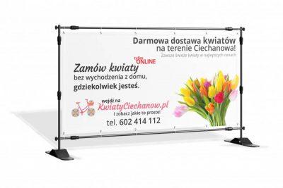 Baner KwiatyCiechanow.pl