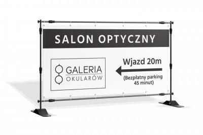 Baner kierunkowskaz Salon Optyczny
