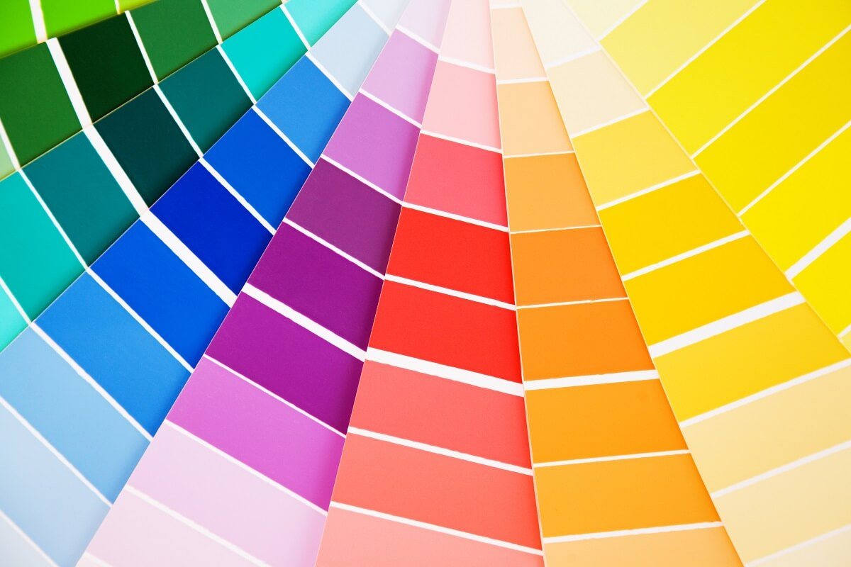 Nazwy kolorów w projektach graficznych