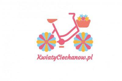 Projekt logo kwiaciarni internetowej