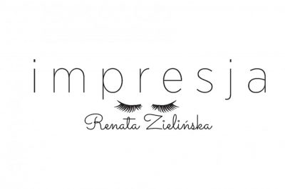 Projekt logo stylistki rzęs i paznokci