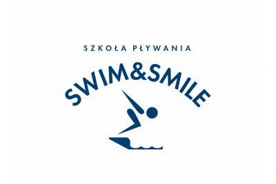 Projekt mini logo dla szkoły pływania