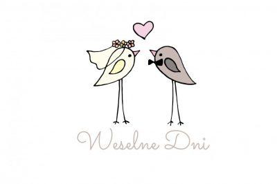 Projekt logo targów weselnych