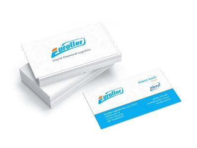 Wizytówki dla specjalistycznej firmy logistyczno-transportowej
